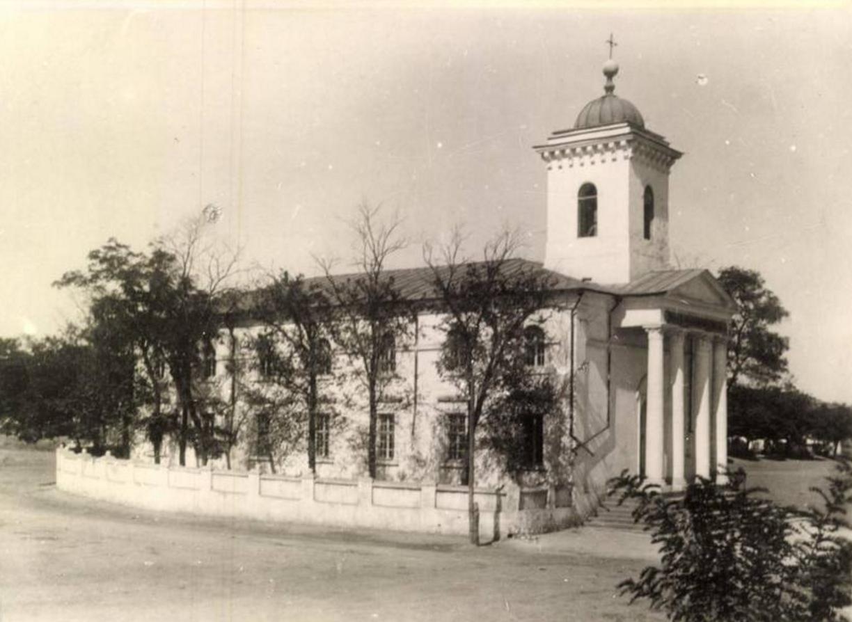 Biserica Luterană din Sărata, înainte de WWII