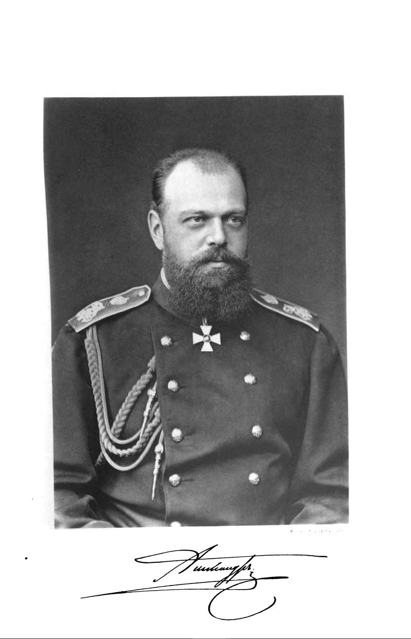 Țarul Alexandru al III-lea
